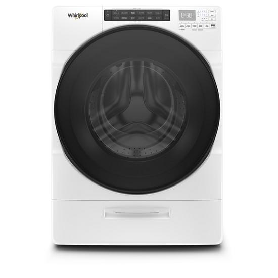 Whirlpool 4.5 cu. ft. Closet-Depth Front Load Washer with Load & Go™ XL Dispenser