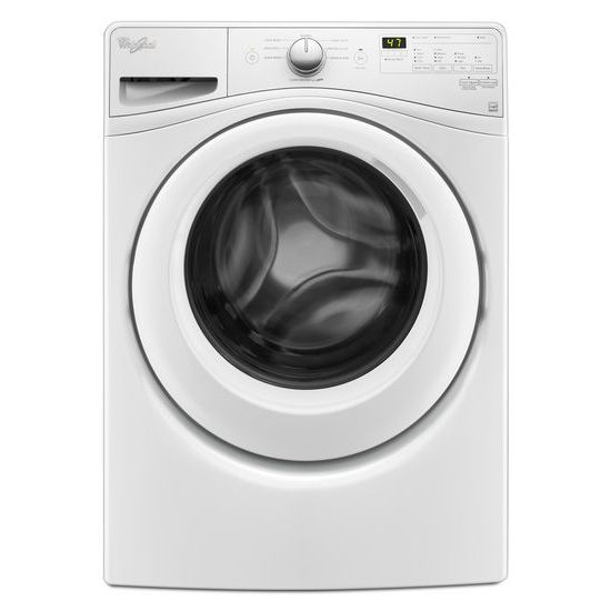 Whirlpool 4.2 cu.ft Compact Front Load Washer with Adaptive Wash Technology, 8 cycles