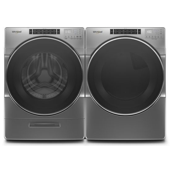 Model: WFW8620HC | Whirlpool 5.0 cu. ft. Front Load Washer with Load & Go™ XL Dispenser