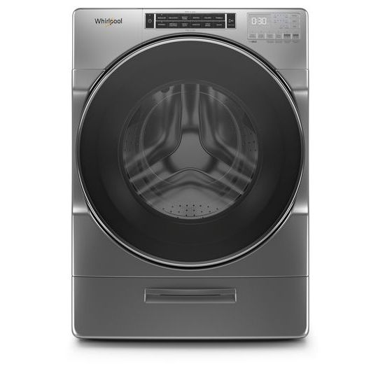 Whirlpool 4.3 cu. ft. Closet-Depth Front Load Washer with Load & Go™ XL Dispenser
