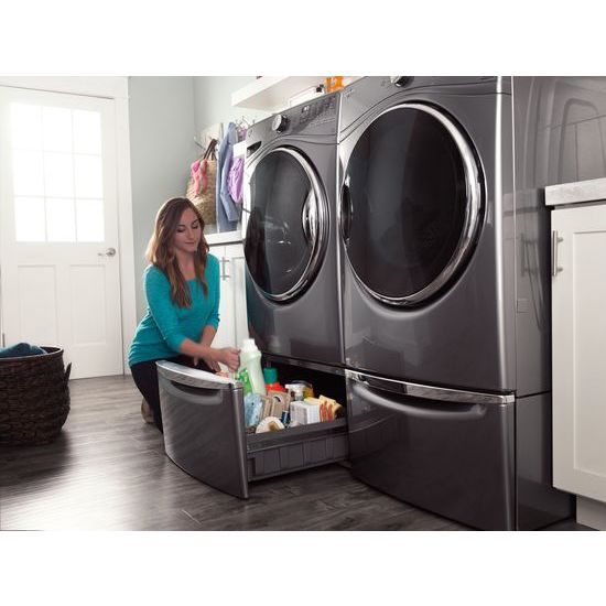 Model: WFW92HEFC | Whirlpool 4.5  cu.ft Front Load Washer with Load & Go™, 12 cycles