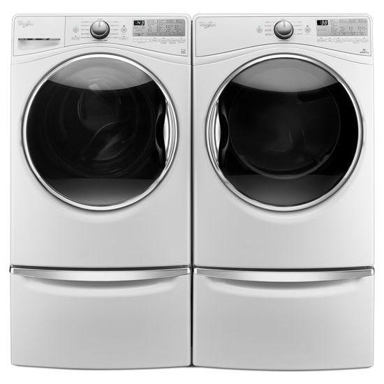 Model: WFW92HEFW | Whirlpool 4.5  cu.ft Front Load Washer with Load & Go™, 12 cycles