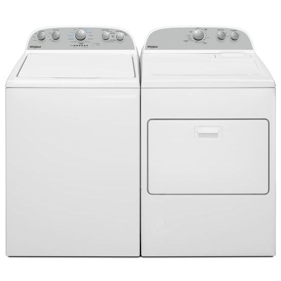 Model: WGD4950HW | Whirlpool 7.0 cu. ft. Top Load Gas Dryer with AutoDry™ Drying System