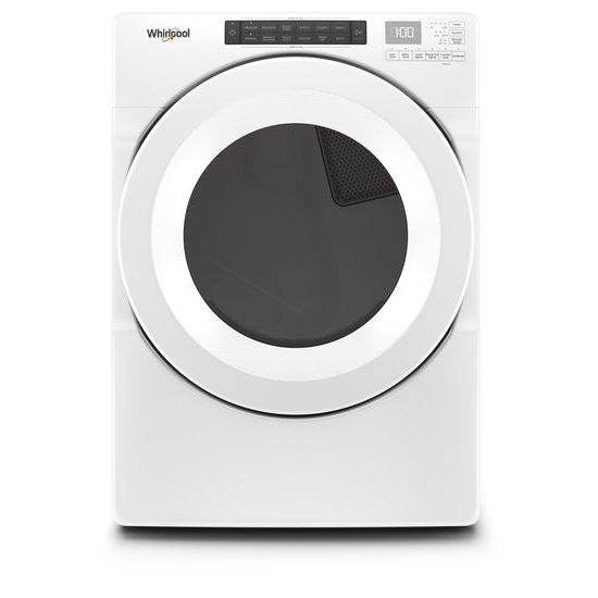 Model: WGD5620HW | Whirlpool 7.4 cu. ft. Front Load Gas Dryer with Intuitive Touch Controls