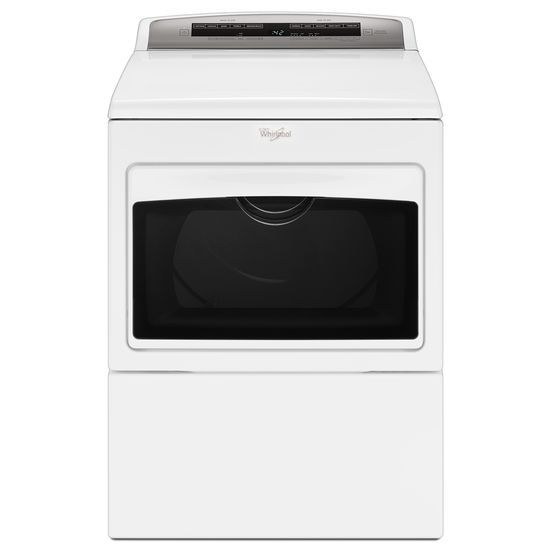 Whirlpool 7.4 cu.ft Top Load HE Gas Dryer with AccuDry™, Intuitive Touch Controls