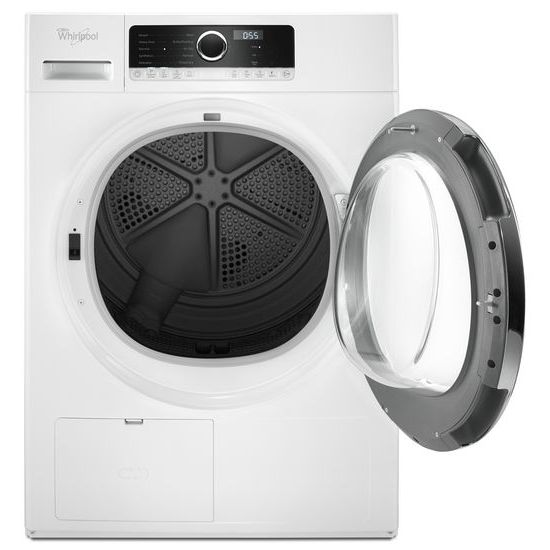 Model: WHD5090GW | Whirlpool 4.3 cu.ft Compact Ventless Heat Pump Dryer with Wrinkle Shield™ Option