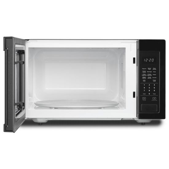 Model: WMC30516HB | Whirlpool 1.6 cu. ft. Countertop Microwave with 1,200-Watt Cooking Power