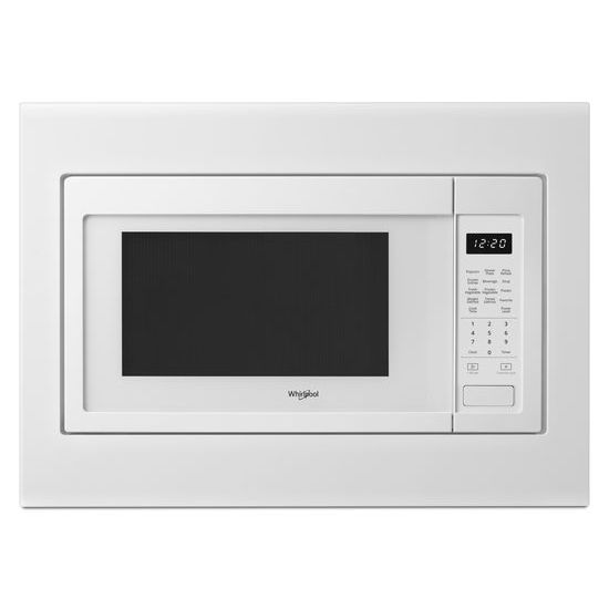 Model: WMC30516HW | Whirlpool 1.6 cu. ft. Countertop Microwave with 1,200-Watt Cooking Power