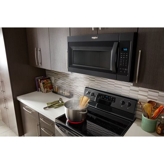 Model: WMH31017HB | Whirlpool 1.7 cu. ft. Microwave Hood Combination with Electronic Touch Controls