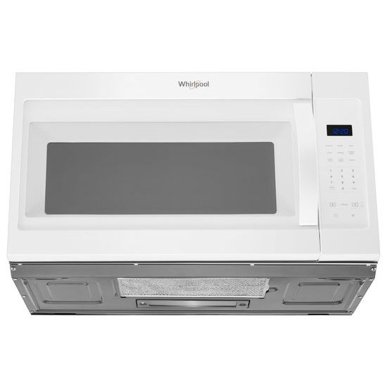 Model: WMH31017HW | Whirlpool 1.7 cu. ft. Microwave Hood Combination with Electronic Touch Controls
