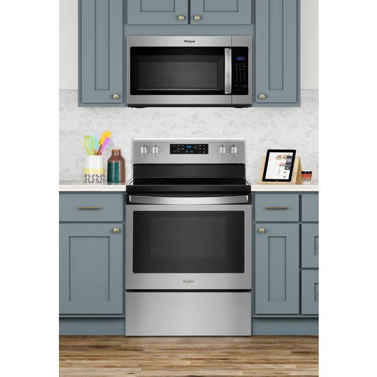Model: WMH31017HZ | Whirlpool 1.7 cu. ft. Microwave Hood Combination with Electronic Touch Controls