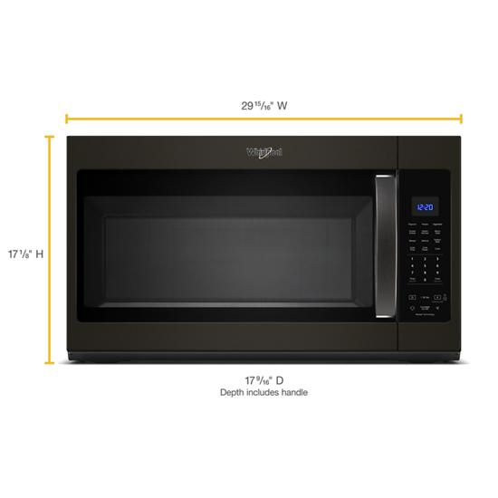 Model: WMH32519HV | Whirlpool 1.9 cu. ft. Capacity Steam Microwave with Sensor Cooking