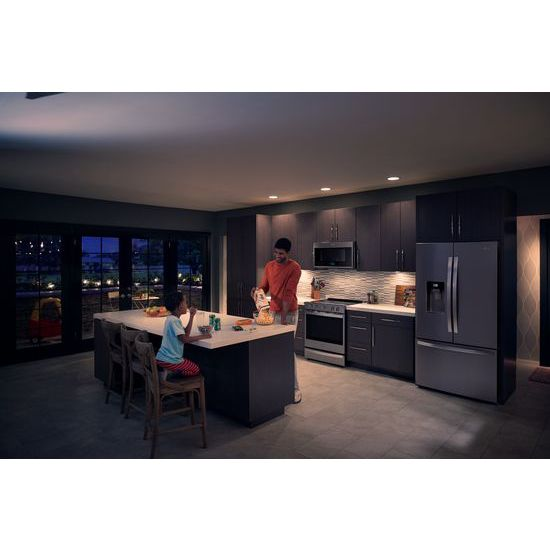 Model: WMH78019HZ | Whirlpool 1.9 cu. ft. Smart Over-the-Range Microwave with Scan-to-Cook technology