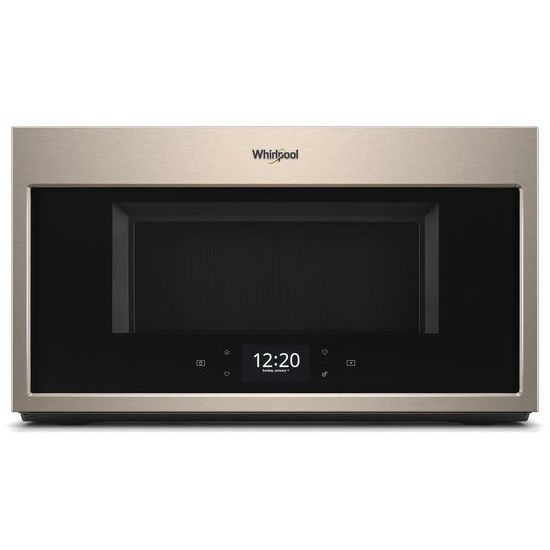 Whirlpool 1.9 cu. ft. Smart Over-the-Range Microwave with Scan-to-Cook technology