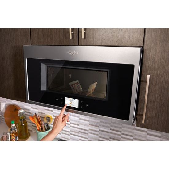 Model: WMHA9019HZ | 1.9 cu. ft. Smart Over-the-Range Microwave with Scan-to-Cook technology