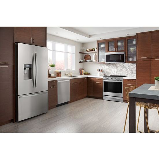 Model: WMHA9019HZ | Whirlpool 1.9 cu. ft. Smart Over-the-Range Microwave with Scan-to-Cook technology