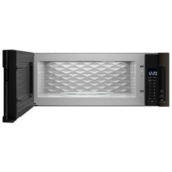 Model: WML75011HV | Whirlpool 1.1 cu. ft. Low Profile Microwave Hood Combination