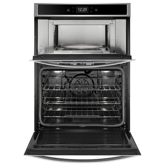 Model: WOC75EC0HS | Whirlpool 6.4 cu. ft. Smart Combination Wall Oven with Touchscreen