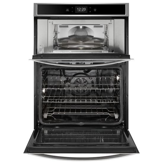 Model: WOC97EC0HZ | Whirlpool 6.4 cu. ft. Smart Combination Wall Oven with Microwave Convection