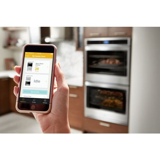 Model: 4-WOD51EC0HS-AD1 | Whirlpool 10.0 cu. ft. Smart Double Wall Oven with Touchscreen