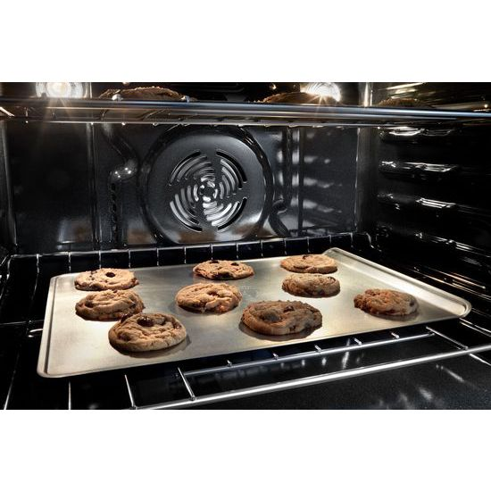 Model: WOD77EC7HV | Whirlpool 8.6 cu. ft. Smart Double Wall Oven with True Convection Cooking