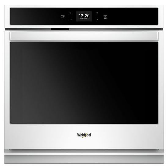 Model: WOS51EC7HW | Whirlpool 4.3 cu. ft. Smart Single Wall Oven with Touchscreen