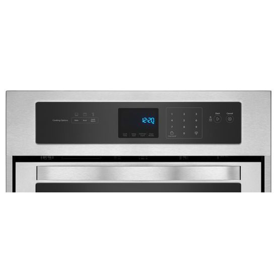 Model: WOS51ES4ES | Whirlpool 3.1 Cu. Ft. Single Wall Oven with High-Heat Self-Cleaning System