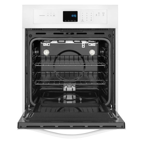 Model: WOS51ES4EW | Whirlpool 3.1 Cu. Ft. Single Wall Oven with High-Heat Self-Cleaning System