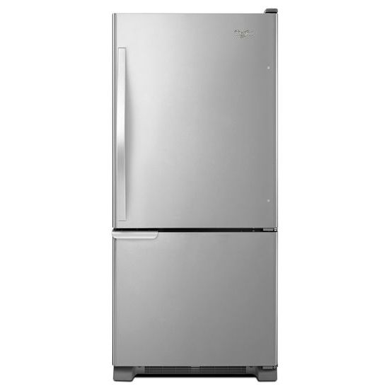 Whirlpool 30-inches wide Bottom-Freezer Refrigerator with Accu-Chill™ System - 18.7 cu. ft.