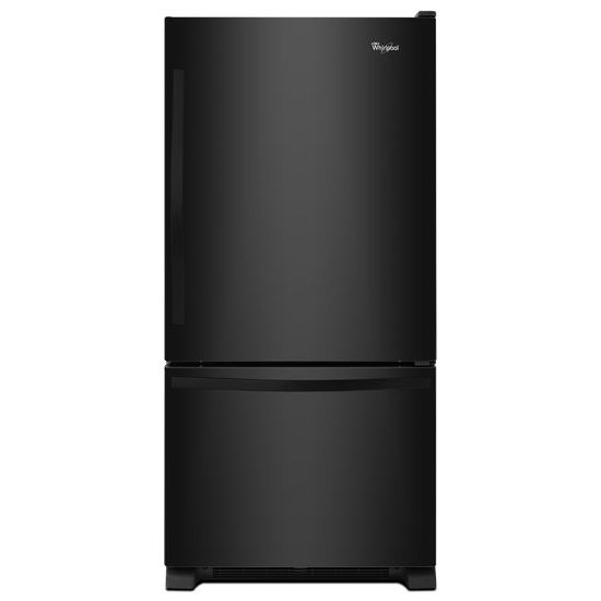 Whirlpool 33-inches wide Bottom-Freezer Refrigerator with SpillGuard™ Glass Shelves - 22 cu. ft