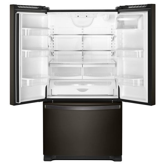 Model: WRF532SMHV | Whirlpool 33-inch Wide French Door Refrigerator - 22 cu. ft.