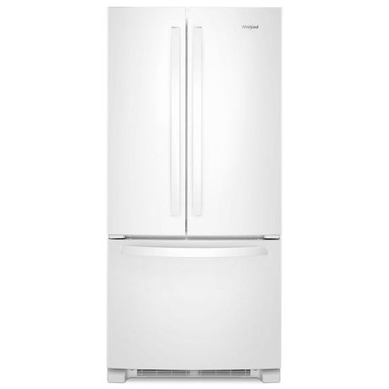 Model: WRF532SMHW | Whirlpool 33-inch Wide French Door Refrigerator - 22 cu. ft.