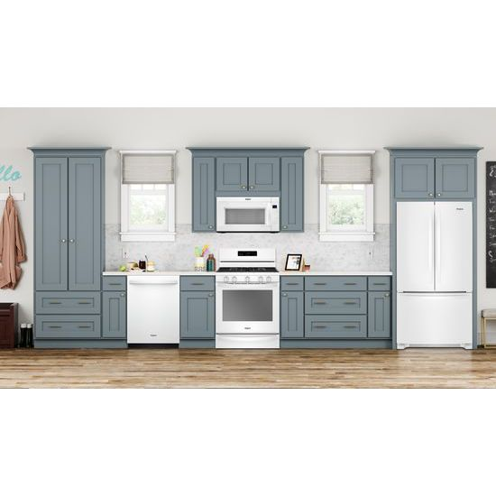Model: WRF535SMHW | Whirlpool 36-inch Wide French Door Refrigerator with Crisper Drawer - 25 cu. ft.
