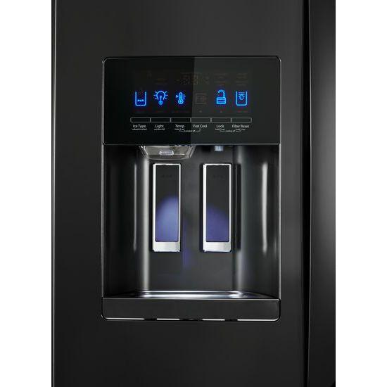 Model: WRF555SDHB | 36-inch Wide French Door Refrigerator - 25 cu. ft.