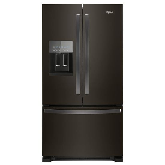 Whirlpool 36-inch Wide French Door Refrigerator in Fingerprint-Resistant Stainless Steel - 25 cu. ft.