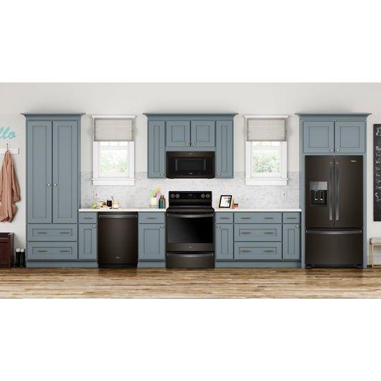 Model: WRF555SDHV   36-inch Wide French Door Refrigerator in Fingerprint-Resistant Stainless Steel - 25 cu. ft.