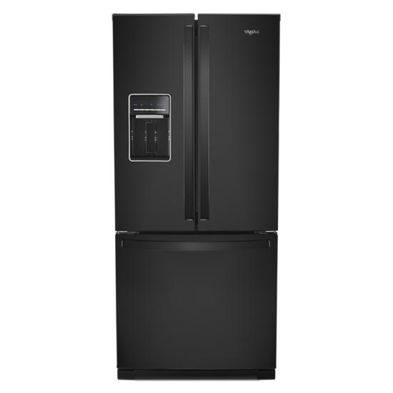 Whirlpool 30-inch Wide French Door Refrigerator - 20 cu. ft.