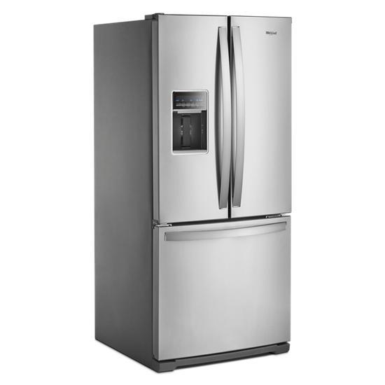 Model: WRF560SEHZ | Whirlpool 30-inch Wide French Door Refrigerator - 20 cu. ft.