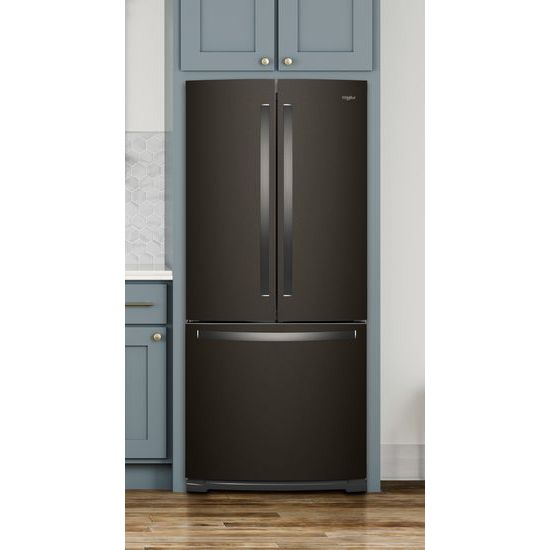 Model: WRF560SMHV | 30-inch Wide French Door Refrigerator - 20 cu. ft.