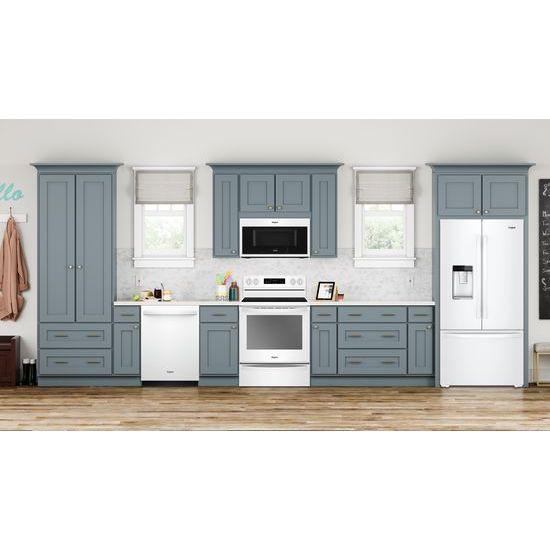 Model: WRF954CIHW | Whirlpool 36-inch Wide Counter Depth French Door Refrigerator - 24 cu. ft.