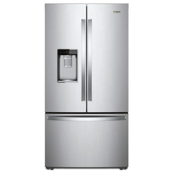 Whirlpool 36-inch Wide Counter Depth French Door Refrigerator - 24 cu. ft.