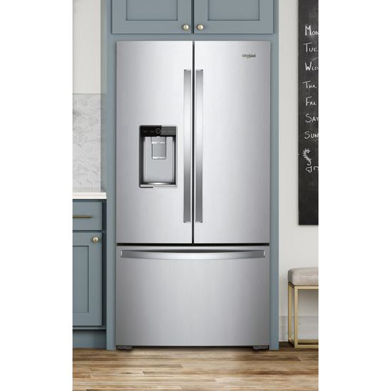 Model: WRF954CIHZ | 36-inch Wide Counter Depth French Door Refrigerator - 24 cu. ft.