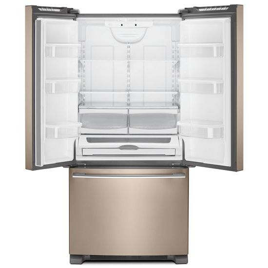 Model: WRFA32SMHN | Whirlpool 33-inch Wide French Door Refrigerator - 22 cu. ft.