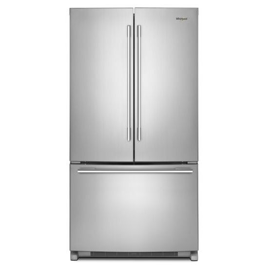 Whirlpool 36-inch Wide French Door Refrigerator with Crisper Drawer - 25 cu. ft.