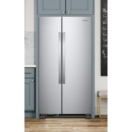 Model: WRS312SNHM | 33-inch Wide Side-by-Side Refrigerator - 22 cu. ft.