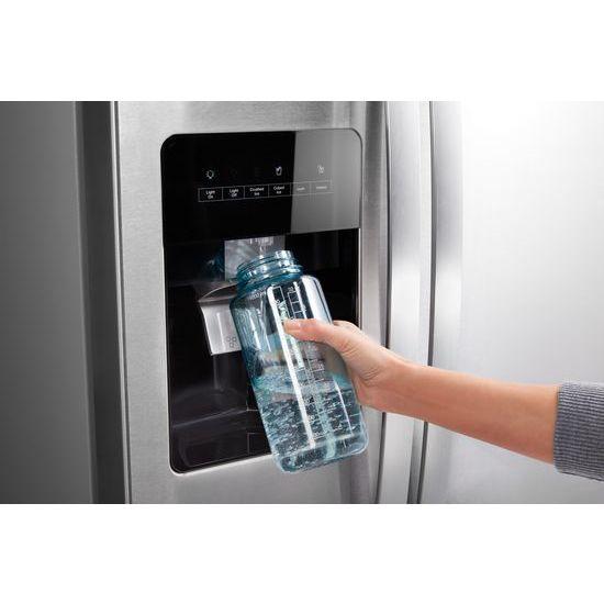 Model: WRS315SDHM | Whirlpool 36-inch Wide Side-by-Side Refrigerator - 24 cu. ft.
