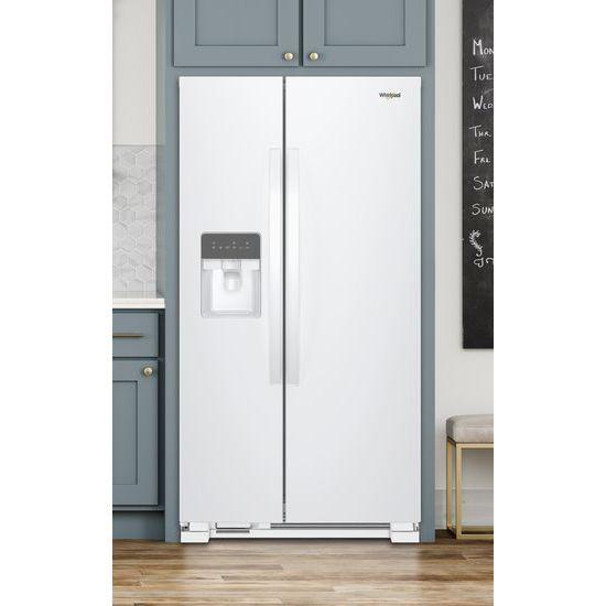 Model: WRS315SDHW | 36-inch Wide Side-by-Side Refrigerator - 24 cu. ft.