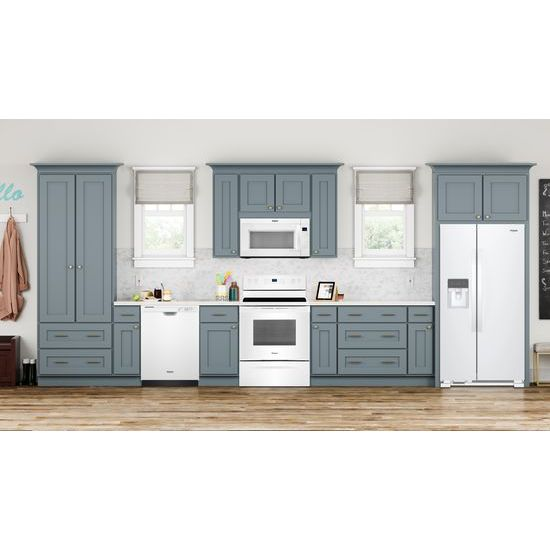 Model: WRS315SNHW-DISPLAY | Whirlpool 36-inch Wide Side-by-Side Refrigerator - 25 cu. ft.