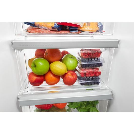 Model: WRS325SDHV | 36-inch Wide Side-by-Side Refrigerator - 25 cu. ft.