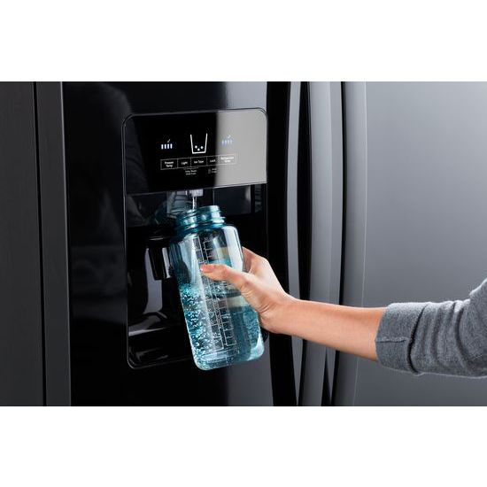 Model: WRS335SDHB | Whirlpool 36-inch Wide Side-by-Side Refrigerator - 25 cu. ft.
